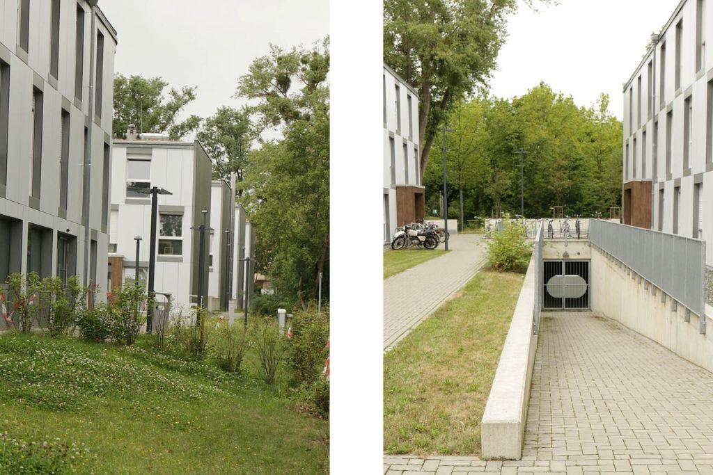 """Wohnheim """"fair"""", Nieder-Ramstädter-Str. 122 - 128A, Aussen"""