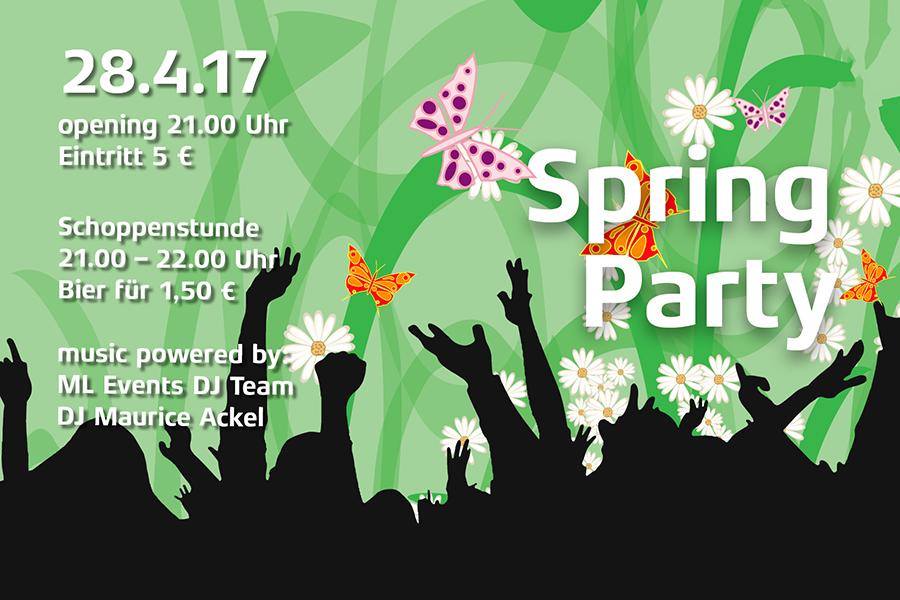 Mensa Party an der Lichtwiese am 28. April
