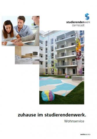 """Broschüre """"Zuhause im Studierendenwerk"""""""