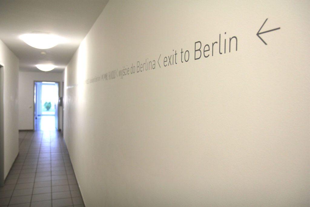 Wohnheim LAB, Berliner Allee, Beispiel Flur