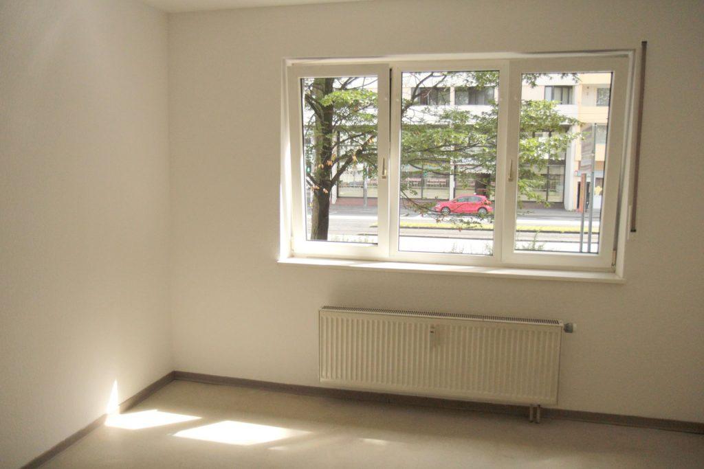 Wohnheim Neckarstraße, Beispiel leeres Zimmer