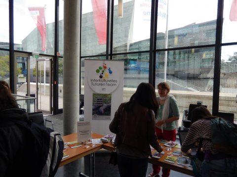 ITT-Stand bei Welcome-Tag der Tu Darmstadt