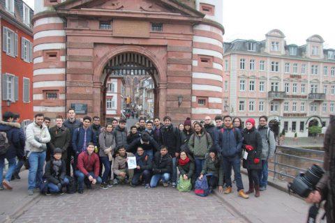 Gruppenbild ITT in Heidelberg