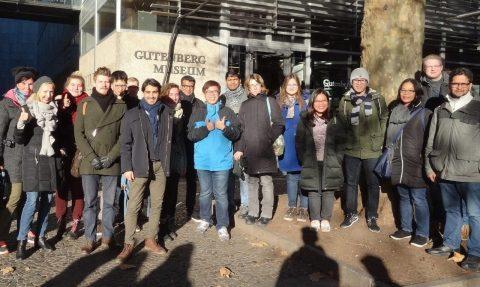 Gruppenbild ITT in Mainz