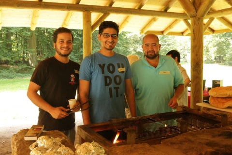 Grillmneister beim Sommerfest ITT mit IGeMDa