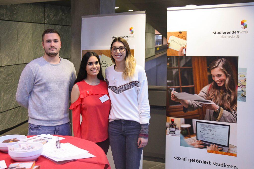 Info-Stand des Studierendenwerks auf der hobit 2018