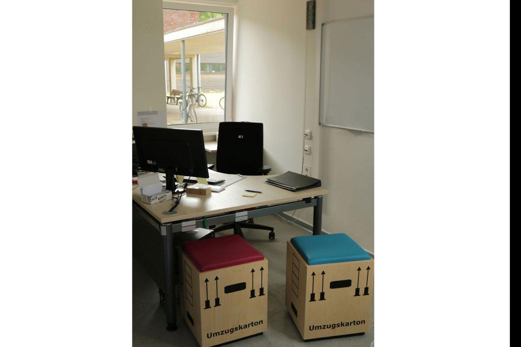Wohnheim Studentendorf, Infopoint Wohnservice
