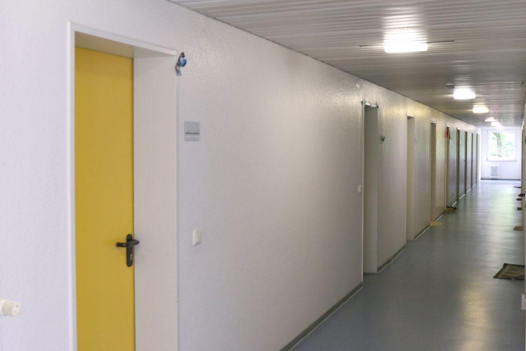 Wohnheim Studentendorf, Beispiel Flur