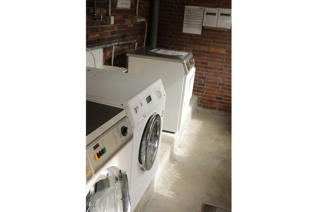 Studentendorf, Waschmaschinenraum