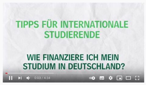 Tipps für internationale Studierende